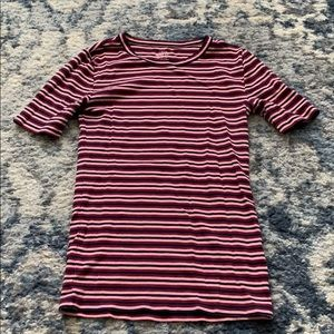 J Crew perfect fit striped tee